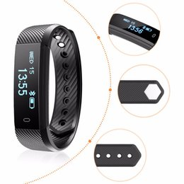 Wholesale Distance Watch - ID115 Smart Band Bracelet Fitness Tracker Watch Wireless Touch Screen Sleep Monitor Activity Step Distance Calorie Counter for Android  IOSc
