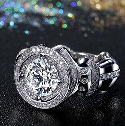 Wholesale Unique Heart Jewelry Sets - Wholesale - Victoira Wieck Luxury Jewelry 14kt White Gold Filled Unique Desgin Topaz Simulated Diamond Gemstones Wedding Men Finger Ring Siz
