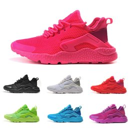 Wholesale Cheap Cotton Netting - Drop Shipping Wholesale Running Shoes Men Women Air Huarache Ultra Net Sneakers 2016 High Quality Cheap Hot Sale Sports Shoes Size 5.5-11