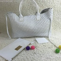 Wholesale First Package - 016 new high-quality first layer cow hot fashion handbags Free Shipping hand-woven shoulder strap with multi-colored diagonal package Ms.bag
