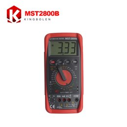 Wholesale Digital Multimeter Free - Wholesale-New Arrival MST-2800B Intelligent Automotive Digital Multimeter MST 2800B OBD2 Auto Diagnostic Tool Tools Electric Free Shipping