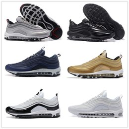 Wholesale Cheap Fashion Sneakers Men - Hot Sale New Men Casual Shoes Airs Cushion 97 KPU Plastic Cheap Training Shoes Fashion Wholesale Outdoor Running Shoes Sneakers Size 40-46