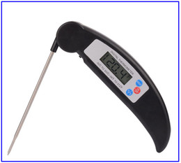 Wholesale Read Chart - 2017 Instant Thermometer-Digital Instant Read Cooking Thermometer Foldable with BBQ Internal Temperature Chart For Kitchen Meat Beef Poultry