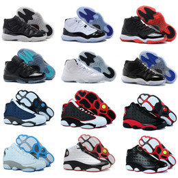 Wholesale Free Online Shipping - New high quality 11 men women basketball shoes 13 Hardaway sports shoes sneakers online wholesale US size 5.5-13 Free Shipping