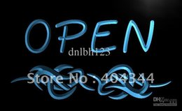 Wholesale Tattoo Shop Led Signs - LK253-TM OPEN Tattoo Shop Display Bar Neon Light Sign. Advertising. led panel, Free Shipping, Wholesale
