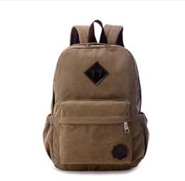 2019 bolsas de lona para homem Atacado-lmy22206 mochila de lona masculino esporte lazer grande capacidade mochila edição Han viagem de computador saco dos homens feminino Laptop bolsas de lona para homem barato