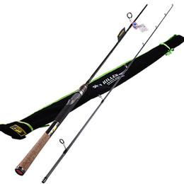 Wholesale Vara Lure - Spinning Fishing Rod 2 Section1.98m 2.1m Power:M IM7Carbon 99% FUJI Guide Ring Lure Rods Vara De Pesca Carp Olta Fishing Tackle
