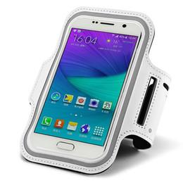 Wholesale Mobile Phone Belt Holders - Wholesale-Sport Armband Arm Band Belt Cover Running GYM Bag Case FOR LG G Pro 2 Vista2 Stylo Mobile Phone with Key Holder 5.5-5.9 Inch L#