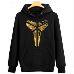 Wholesale Pans Winter - new Spring Autumn Winter Sweatshirt hoodie Black Mamba Kobe Bryant photo basketball inverted triangle Peter Pan