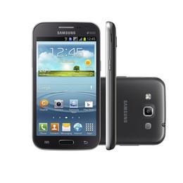 2019 android solo teléfono celular Samsung Galaxy Win I8552 Android 4.1 1G / 4G Wifi Quad Core teléfono celular 4.7 '' desbloqueado teléfono móvil restaurado
