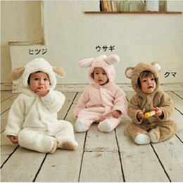 Wholesale Boys Christmas Outfit 2t - 2016 Free Shippping Newborn Winter Rompers 2016 Cute Toddler Baby Girl Boy Cartoon Jumpers Rompers Playsuit Outfits Clothes