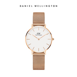 Wholesale Modern Stainless - Good quality TOP luxury 32mm brand Daniel Wellington's womenwatches fashion leather stylerose gold ladies dw watches montre femme relojes