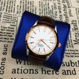 Wholesale Ladies Watches Big Dials - Hot Items Women men Watch Lady Wristwatch Genuine Leather Famous designer lover watch Classic upscale Bracelet Quartz Big Dial free shipping