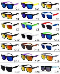 Wholesale Sunglasses Helm Block - Brand Spied Ken Block Helm Sunglasses Fashion Sports Sunglasses Oculos De Sol Sun Glasses Eyeswearr 21 Colors Unisex Glasses 10pcs SG03