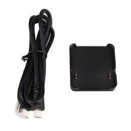 Caricatore della culla Dock di ricarica per Garmin VivoActive intelligente Guarda con il cavo USB da