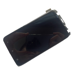 Wholesale xl digitizer - 100% warranty LCD Screen with Touch Screen Digitizer +Frame + Light Assembly for htc One X  XL free shipping