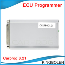 Wholesale More Connectors - with All 21 Adapters Carprog Full V8.21 Firmware 9.31 software Perfect Online Version Including Much More Authorization DHL free Shipping