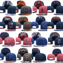 Wholesale Wholesale Snapback Fitted - Baseball Cap Houston Pittsburgh Pirates Baltimore Los Angeles Cleveland Indians Sport Fit Hats all teams Snapback