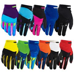 Wholesale Bicycle Motorcycle Gloves - Free shipping 2016 airlines bicycle gloves Dirtpaw racing bike BMX ATV MTB MX motocross gloves gloves motorcycle motorcycle gloves