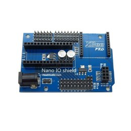 Wholesale Arduino Base - 2016 Newest Dedicated Sensor Expansion Board Base 328P IO Shield for Arduino Nano XBEE