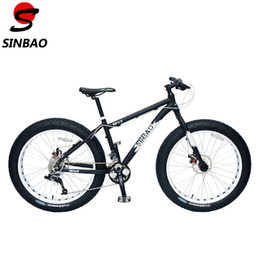 Wholesale Sram Disc - SINBAO Top Qualtiy 26'' Snow Bike, 4.0 Wide Tyre,Aluminum Alloy Frame, Sram Derailleur + BB5 Disc Brakes,21 Speeds. XD 4.0