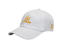 cap lebron Desconto Fashio eu sinto como LEBRON chapéu de alta qualidade snapback moda bonés de beisebol bordado chapéu para homens mulheres cap hip hop osso gorras casquette