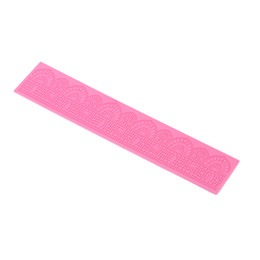 Wholesale Silicon Lace Mat - ANSEL Silicon Cake Mold Practical Cake Decoration Tool Great Fondant Chocolate Baking Mould Strip Lace Mat Kitchen Appliance