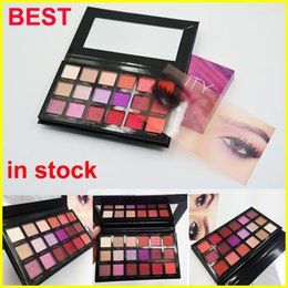 Wholesale Luminous Dhl - Factory Direct Brand Beauty Desert Dusk eye shadow Palette Shimmer Matte Desert Dusk Eyeshadow 18 Colors eye shadow DHL free shipping