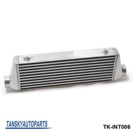 Wholesale bar radiators - TANSKY - 500x180x65mm 2.5''(63mm) I O Turbo Inter Cooler BAR&PLATE Aluminum Front Mount Intercooler TK-INT006