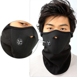 Wholesale Thermal Face - New Cycling Motorcycle Face Mask Veil Winter Sports Ski Snowboard Hood Wind Stopper Cap Headwear Thermal Masks T116