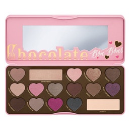 Wholesale Chocolate Love Hearts - 2016 Makeup BON BONS Chocolate Bar Eyeshadow Palette 16 Colors Eyeshadow Love Heart how to clamour guide