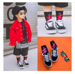 Wholesale Best Funny Gifts - Cotton Sport Socks For Kids Boys Top Quality Spring Baby Cute Funny Knee High Socks Toddler Infant Girls Socks Best Gifts 18 Styles