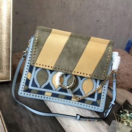 Wholesale Beautiful Leather Bags - No.131 top quality fashion colorful bags genuine leather lady fashion bag women beautiful shoulder bag lovely fashion bags