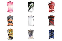 Паладин мужская рукавов Велоспорт жилет дышащий Велоспорт Джерси быстро сухой Майо Спорт ciclo Джерси от