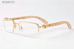 Vente chaude corne de buffle lunettes classique marque designer hommes lunettes lunettes de soleil bambou bois lunettes de soleil pour hommes femmes ? partir de fabricateur