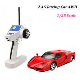 Wholesale Drift Model Cars - 2016 Hot Sale Electric Brinquedos Train Cars Brand New Mini Rc Drifting Car 4wd High Speed Ar 4 Colors Remote Control Racing Best Kids Toys