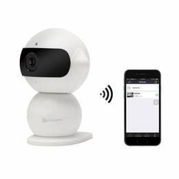 Ip ipad online-Mini Robot P2P 960P HD Cámara IP inalámbrica con WiFi Hotspot Coche DVR Grabadora de conducción Control remoto en tiempo real a través de iPhone iPad Android Teléfono Noche IR