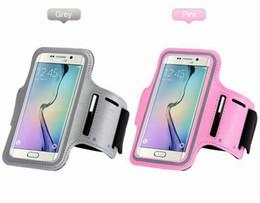 Housse de brassard sport en Ligne-WaterProof Sport Gym Course Armband Pouch Case Cover Pour Apple iphone 6s 6 Plus 5 / 5S Samsung Galaxy S5 S6 bord Note 5