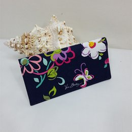 Wholesale Floral Pillow Covers - VB Cotton Checkbook Cover Card Holders