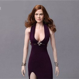 Wholesale Harry Potter Sexy - Mnotht 1 6 Harry Potter Hermione Head Carving Sexy Beauty Wave Hair Female Carved Head Model l25