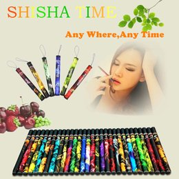 Wholesale Dispoable E Cigarette - Electronic Cigarette Dispoable 500puffs E shisha pens E Cigarettes Hookah Rich flavored e cig ego cigarette Free Shipping High Quality