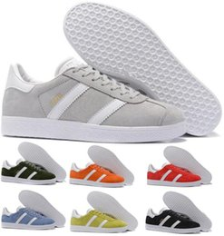Wholesale Womens Shoes Oxfords - Mens Womens Casual Shoes Grey Skate 3M Gazelle Pigskin Force One Oxford Fashion Trend Flat Tennis Superstar Smith Stan Original Shoe