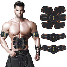 Wholesale Belly Belt For Men - SHENGMI Ab belt workout Abdominal Toning Training Wireless Electronic Abs Machines ABS Fit belt for Abdomen and Arm Support Men & Women