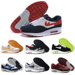 Wholesale Max 87 Shoes - 2017 New Design Maxes 87 Ultra knits casual Shoes For Men,Mens Maxes 1 Fashion Athletic Man Sports Trainers running Shoes Size 40-45