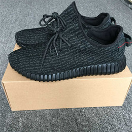 Wholesale Dive Hunting - 2016 Luxury Released 350 Boost Pirate Black Best Quality Authentic 350 Turtle Dove Gray With Shoes Box women