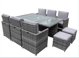 Wholesale Outdoor Rattan Dining Sets - dining table chair morden furniture Environmental PE rattan wicker sofa set,wicker furniture Garden patio furniture outdoor furniture