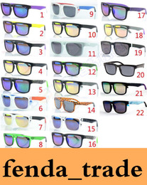 Wholesale Sunglasses Helm Block - MOQ=50pcs Factory Price Wholesale new fashion KEN BLOCK HELM colorful reflective coating sunglasses Cycling Sports dazzling Sunglasses