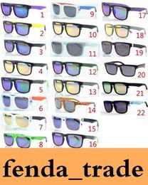 Wholesale Helm Ken Block - MOQ=50pcs Factory Price Wholesale new fashion KEN BLOCK HELM colorful reflective coating sunglasses Cycling Sports dazzling Sunglasses