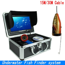 "Wholesale underwater monitoring - SY710 Professional Underwater Fish Finder system 7""LCD Monitor 1000TVL Video Underwater Camera Ice Lake Fishing camera+8G SD CARD ann"