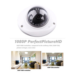 "Wholesale Metal Vandal Proof Dome Camera - Evtevision 1 2.7"" CMOS 1080P CCTV Home Surveillance 4-in-1 TVI CVI AHD Analog Security Dome Cameras with Metal vandal-proof case (like UFO)"